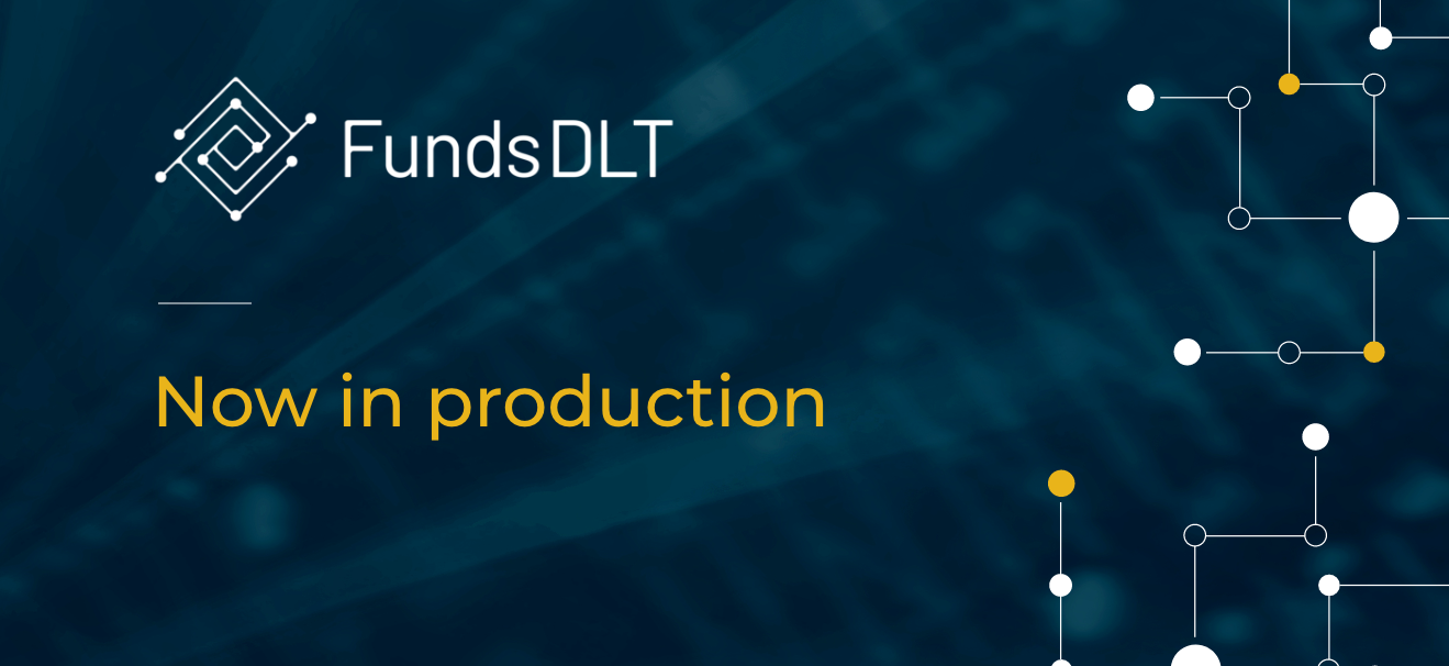 FundsDLT goes live with its blockchain solution for fund distribution
